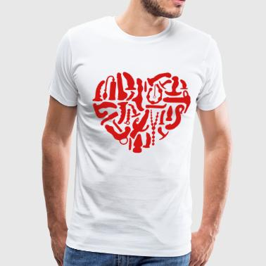 Sex Toy Kinky Sex Tools Heart - Men's Premium T-Shirt