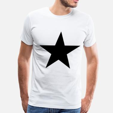 Flock Star (Flock Print) - Men's Premium T-Shirt