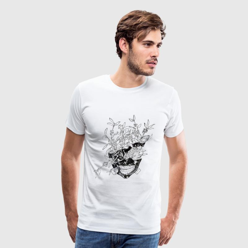 ••Kaneki Flower Mask•• - Men's Premium T-Shirt