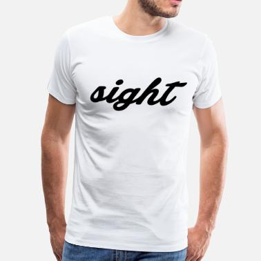Not By Sight sight - Men's Premium T-Shirt