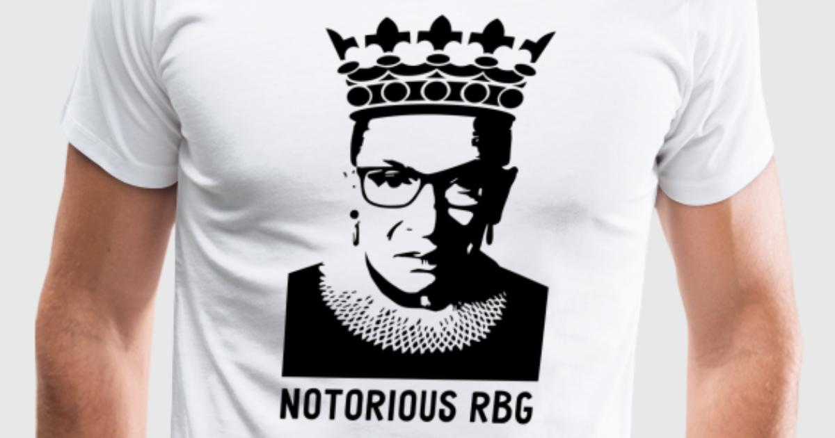 ruth bader ginsberg notorious rbg by ecokeeps spreadshirt