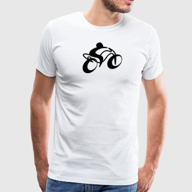 Motorcycle black - gift idea for motorcycle lovers - Men's Premium T-Shirt
