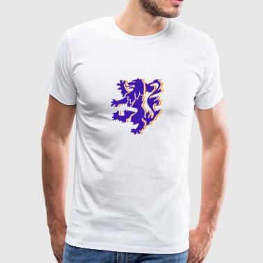 Dutch Lion funny tshirt - Men's Premium T-Shirt