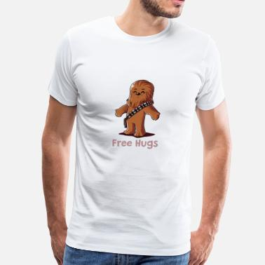 That Wookiee HUG A WOOKIEE - Men's Premium T-Shirt