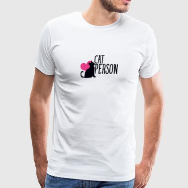 Cat Person - Men's Premium T-Shirt