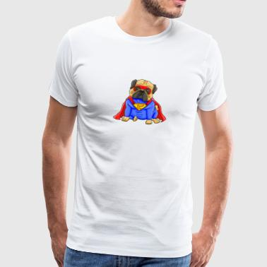 Super Pugs - Men's Premium T-Shirt