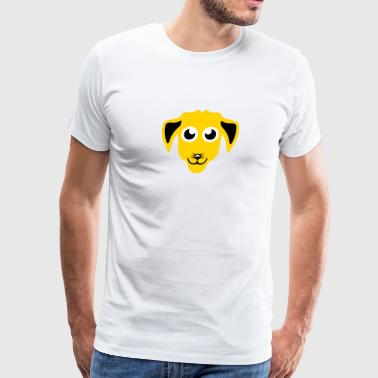dog drawing animals 411 - Men's Premium T-Shirt
