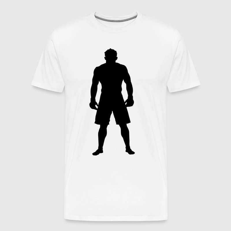 MMA Fighter HD VECTOR - Men's Premium T-Shirt