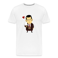 Anchorman I Love Lamp   Menu0027s Premium T Shirt