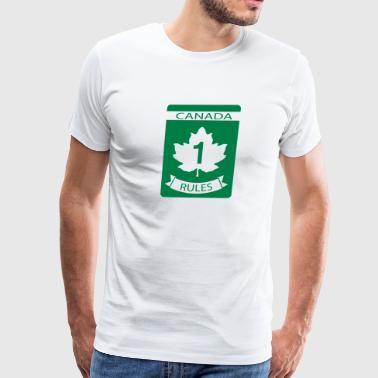 Canada Rules - Men's Premium T-Shirt