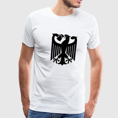 Coat of arms of Germany (drinking beer) - Men's Premium T-Shirt