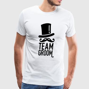 team groom - Men's Premium T-Shirt