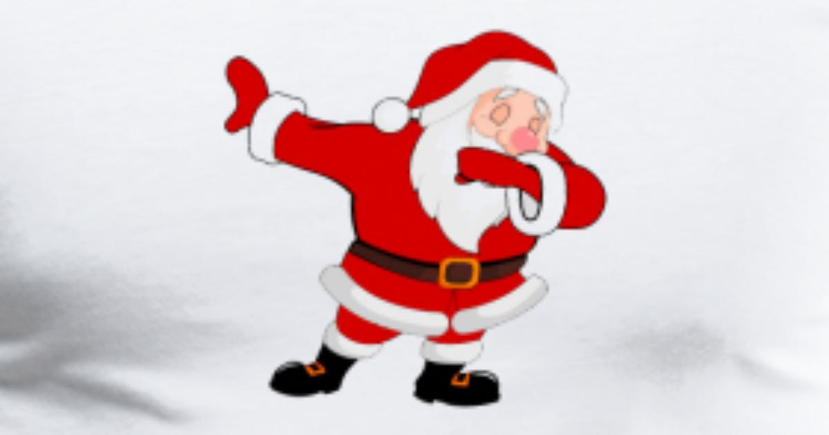 Dabbing Santa By Spreadshirt