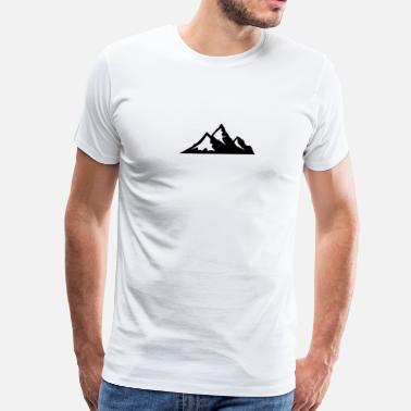 Mountaineering Mountain - Men's Premium T-Shirt