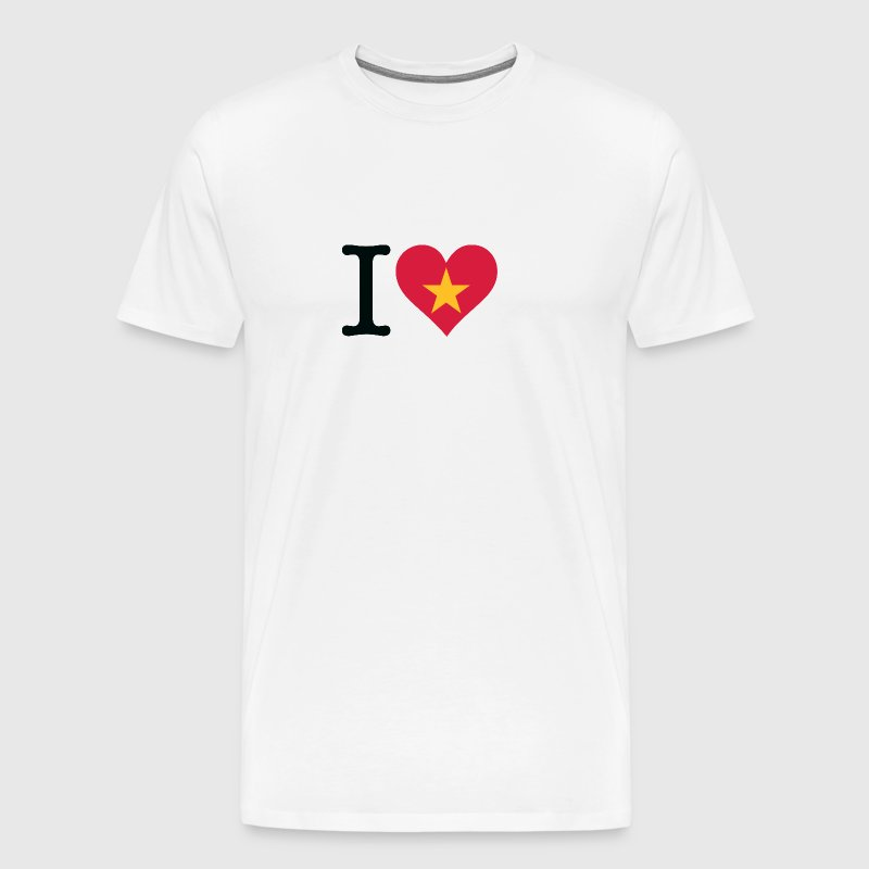 I Love Vietnam - Men's Premium T-Shirt