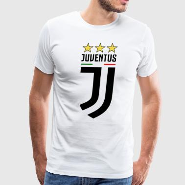 juventus new logo - Men's Premium T-Shirt