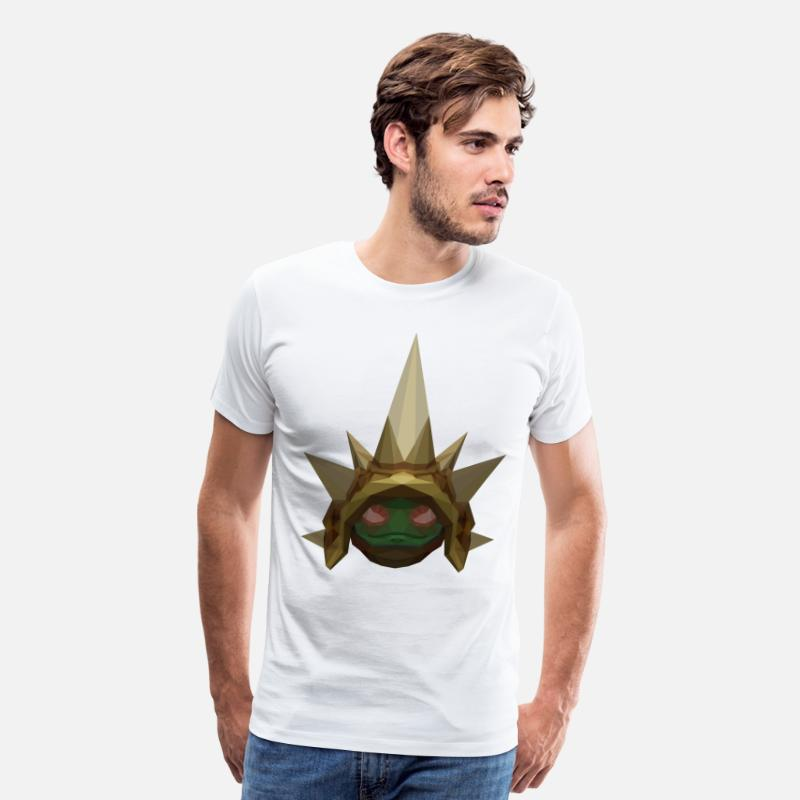 Awesome T-Shirts - League of Legends Rammus - Men's Premium T-Shirt white