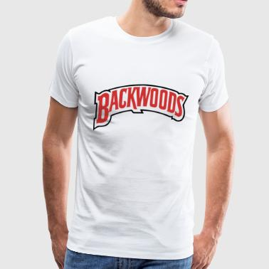 Backwoods backwoods red white - Men's Premium T-Shirt