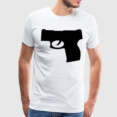 Handgun - Men's Premium T-Shirt
