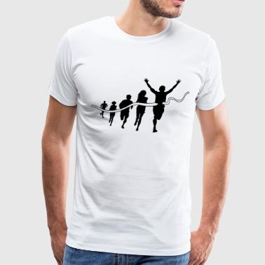 Finishing line - Men's Premium T-Shirt