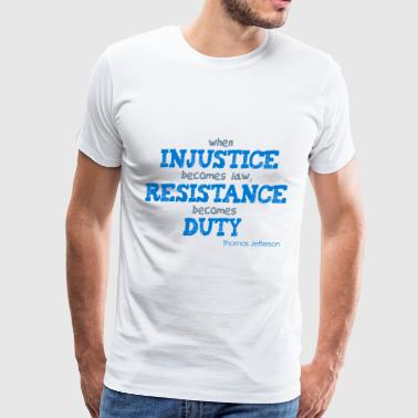 injustice - Men's Premium T-Shirt
