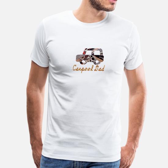 artTS collage art CARPOOL DAD brownz Men's Premium T-Shirt