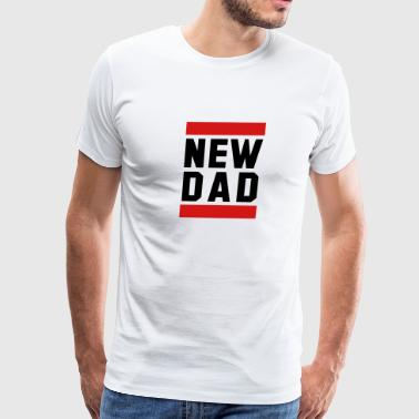 Funny Pregnancy NEW DAD Funny Pregnancy Design - Men's Premium T-Shirt