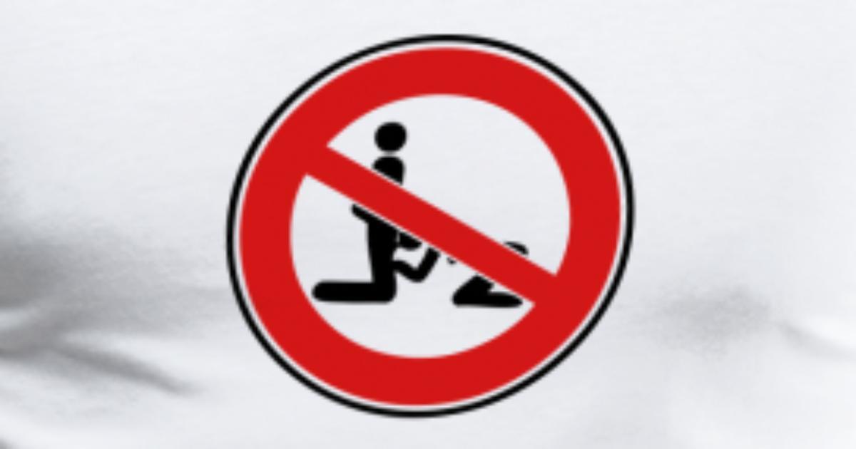 Blowjob sign