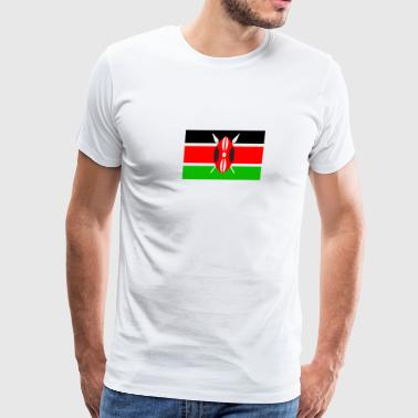 Kenyan Flag - Men's Premium T-Shirt