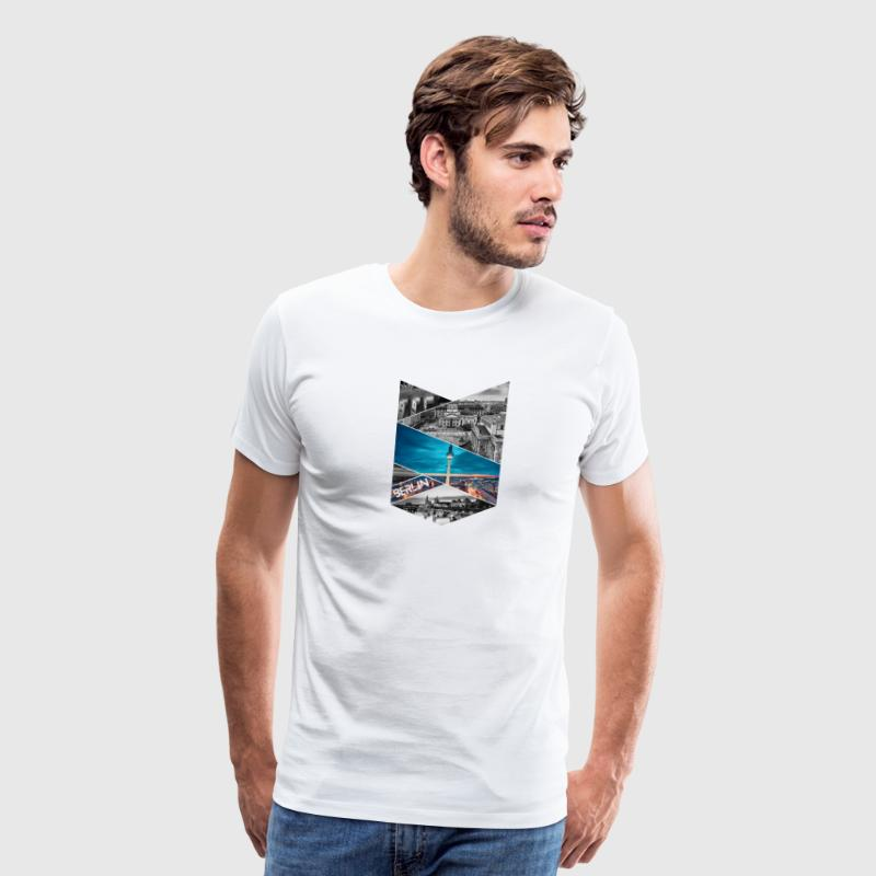 Berlin Germany City T-shirt - Men's Premium T-Shirt