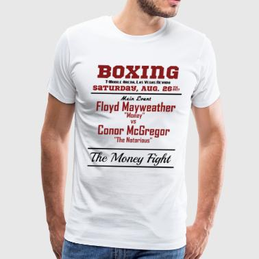 Floyd Mayweather Vs Conor McGregor Boxing - Men's Premium T-Shirt