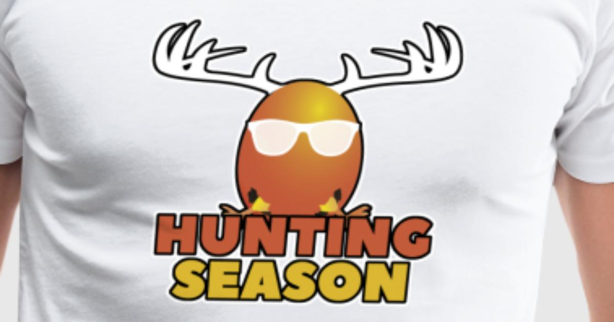 Hunting season easter egg hunt gift idea by pointshirt spreadshirt negle Choice Image