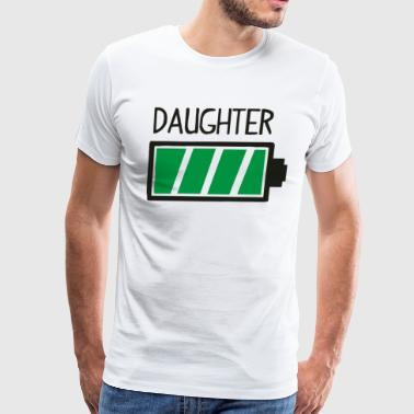 Daughter Loading Full Battery Funny - Men's Premium T-Shirt