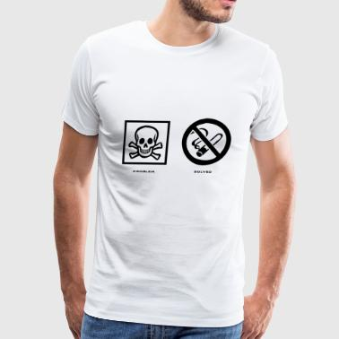 Problem Solved Anti Smoking - Men's Premium T-Shirt