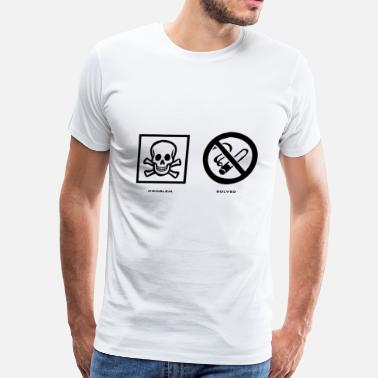 Anti-smoking Problem Solved Anti Smoking - Men's Premium T-Shirt