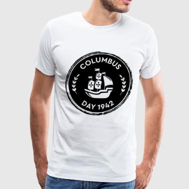 Columbus Day USA America holiday gift idea - Men's Premium T-Shirt