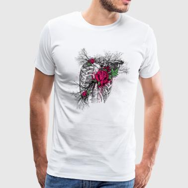 Punks Not Dead Dead roses - Men's Premium T-Shirt