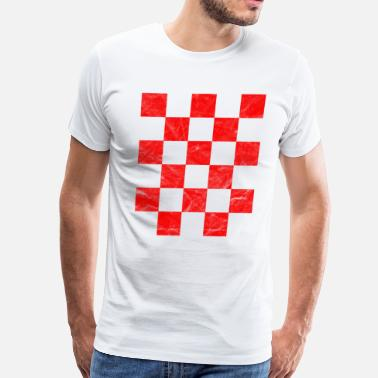 Croatia Croatia Hrvatska T-Shirt National Flag - Men's Premium T-Shirt