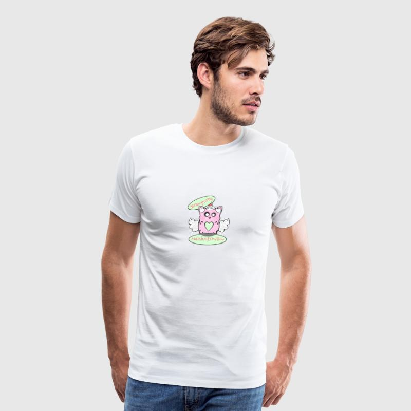 Strawpurry MarshMEOWllow - Men's Premium T-Shirt