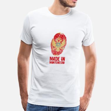 Crna Made in Montenegro / Црна Гора Crna Gora - Men's Premium T-Shirt