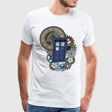 Time Travel - Men's Premium T-Shirt