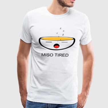 Miso tired - Men's Premium T-Shirt