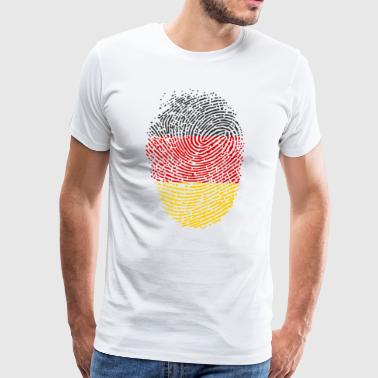 Flag Of Germany Germany flag - Men's Premium T-Shirt