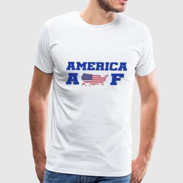 America AF 4th of July Independence Day Shirts - Men's Premium T-Shirt