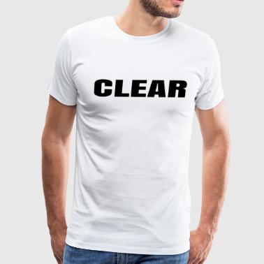 Clear - Men's Premium T-Shirt