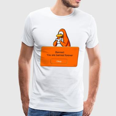 Club Penguin Banned - Men's Premium T-Shirt