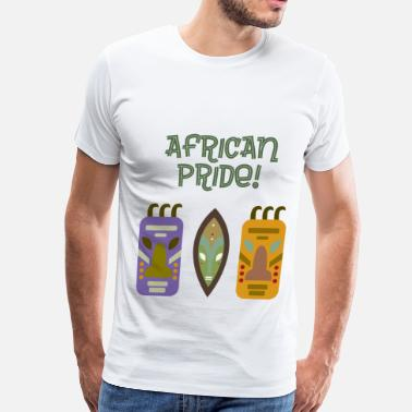 Entertainment African Pride & Art - Men's Premium T-Shirt