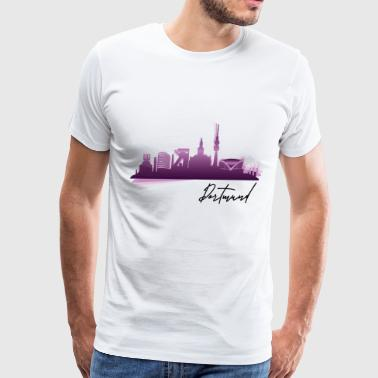Dortmund Germany city motive gift - Men's Premium T-Shirt
