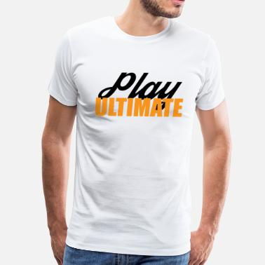 Color Play Play Ultimate Frisbee For Light Colors - Men's Premium T-Shirt