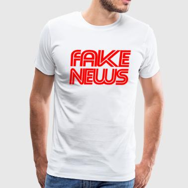 Parody Fake Fake News - Men's Premium T-Shirt